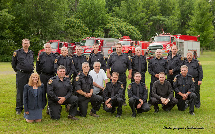 Pompiers volontaires Canton de Stanstead