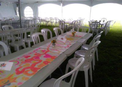 Tables avant la pluie Joanne Ross