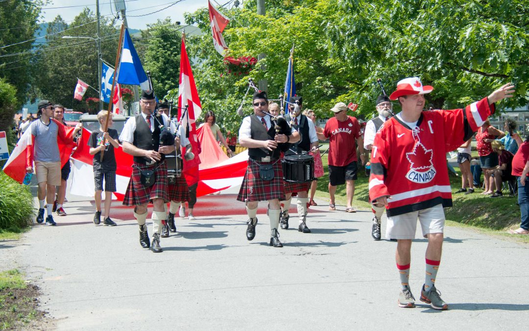 Canada Day in Georgeville
