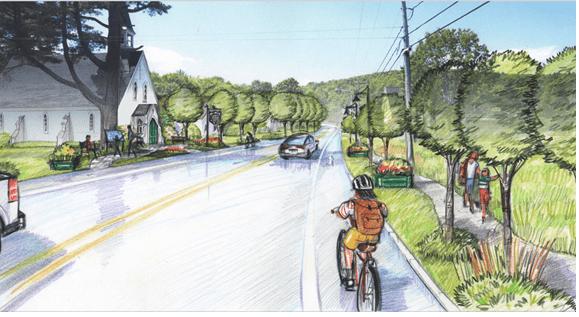 Plan de revitalisation pour le noyau villageois de Fitch Bay