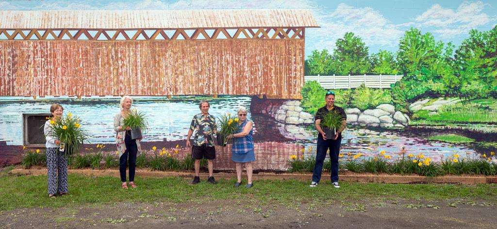 Inauguration de la murale
