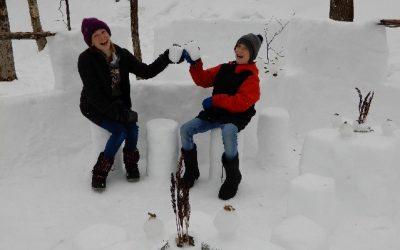 Gagnants du concours de créations de neige