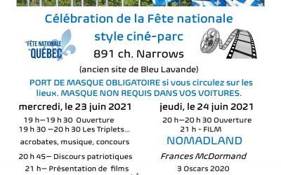 Événements des 23 et 24 juin – La Fête nationale
